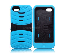Stand Hard Case Back for iphone5s/Cover for iphone5/For iphone 5 5s PC Silicon Case