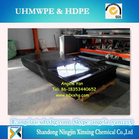 Low price for HDPE/PE Sheet High Density Polyethylene sheet Black color