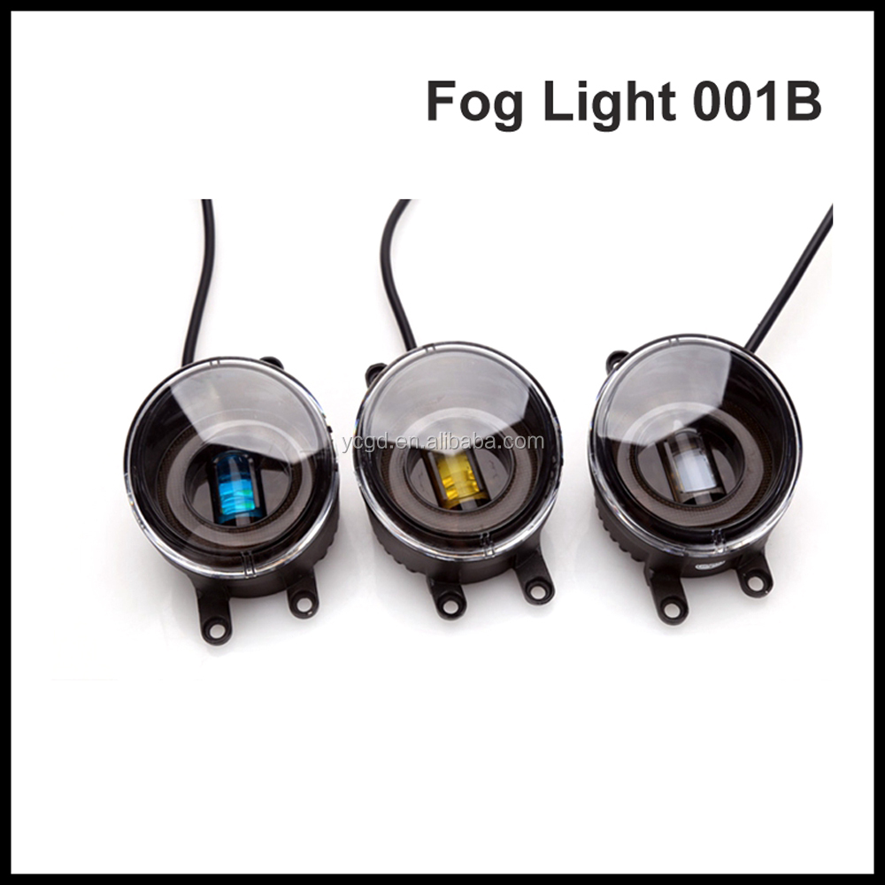 High Quality 50W 12V Led Fog Light For REIZ Yellow Blue White LED Fog Lamp