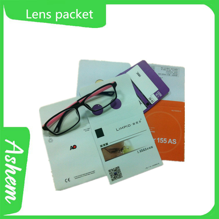 Best selling guangzhou promote packaging pouch for spectacles with LOGO printing, DL286
