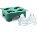 Silicone Ice Mould/Laughing Buddha Silicone Mold Ice Cube Tray