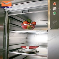 4.5m electric adjustable laundry dumbwaiter for restaurant