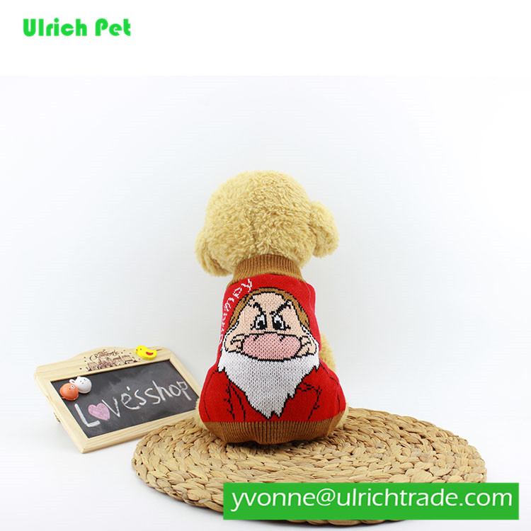 china 2017 new Snow cotton wholesale pet clothing pet dog clothes