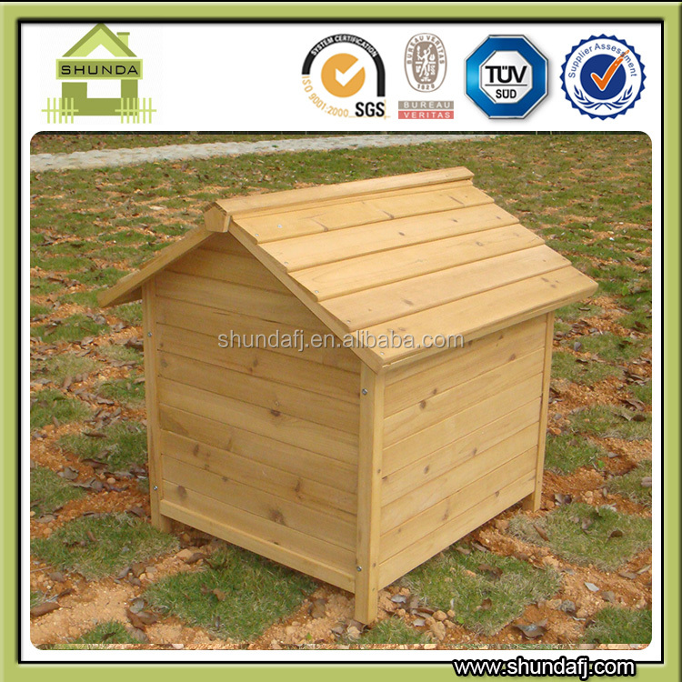High Quality Outdoor Apex Roof Cheap Wood Dog Houses