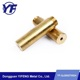 Factory wholesale brass screw bushing cnc turning spare part bolt and nut making machine