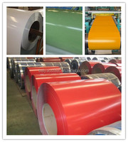 ppgi/low price color coated steel coil / roll/printed prepainted steel coil ppgi roofing materials manufacturer