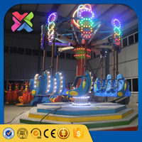 Playground equipment indoor used amsuement park rides spiral jet rides for sale