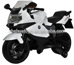 Best selling motorcycle kids car, licensed kids racing motorcycles, with light, music and CE approval