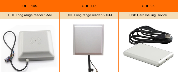 UHF/RFID Long distance 902-928MHz rfid card reader with Metal case waterproof 0-15M to read