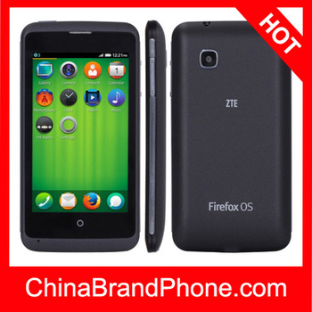 ZTE OPEN C 4GB Black, 4.0 inch 3G Firefox OS 1.3 Smart Phone, MSM8210 Dual Core 1.2GHz, RAM: 512MB, WCDMA & GSM