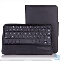 English Amazon Detachable wireless bluetooth keyboard leather case for Asus Memo HD 7