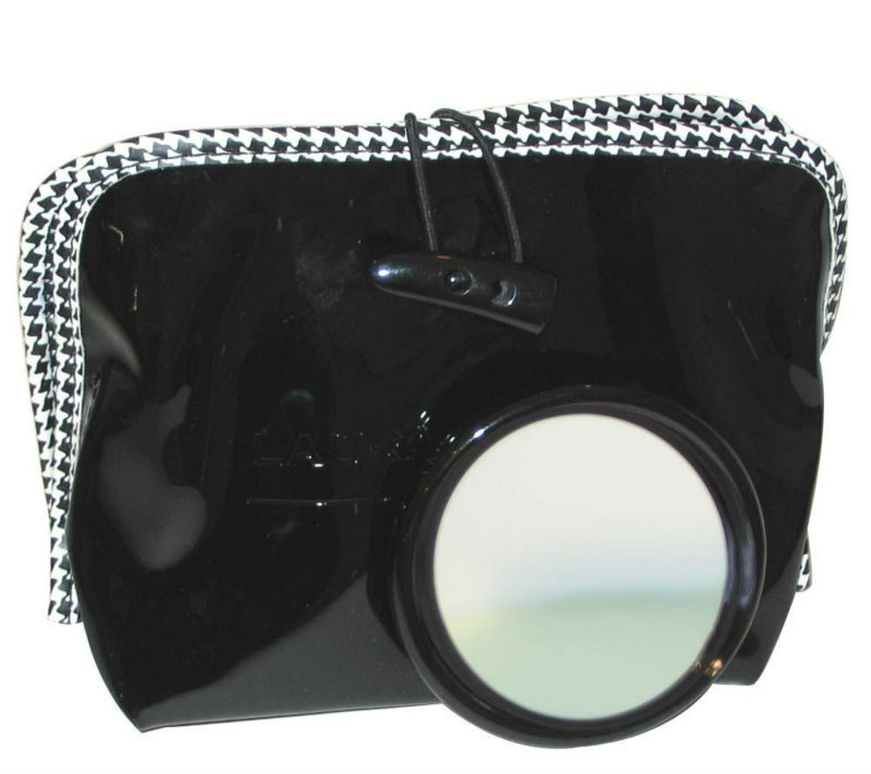 promotional Eco-friendly stylish pvc makeup case with mirror