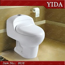 one piece siphonic toilet, american toilet with UPC certificate, types of sanitary traps