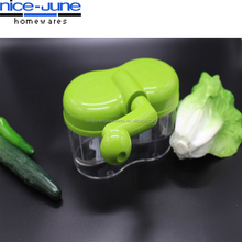 New design twin Commercial vegetable chopper hand powered food chopper