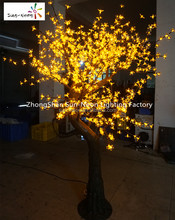 Nice led christmas tree lights cherry blossom decorative tree with good quality