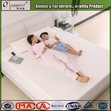 Hot sale new design negative ions bed pad for luxury hotel