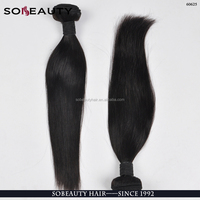 Fast Shipping Hot Selling Double Weft Virgin 100% Natural Brazilian Human Hair Weft 1Kg
