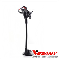 Vesany Supply Cheap Factory Price No Sticky Suction Cup Universal Long Neck Holder Phone Car