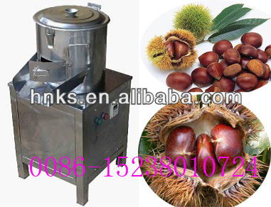 2016 Hot sale chestnut peeler machine/automatic chestnut peeling machine/chestnut processing machine with best price