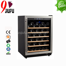 154L load 54 bottles of wine stainless steel wine chiller fridge with CCC CE GS certififcation