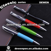 2013 dewen promotion square gift fair ball pen