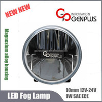 90mm low energy light SAE ECE LED head lamp car LED Fog lights