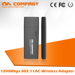 COMFAST CF-912AC Wireless USB 3.0 Adapter 1200Mbps Quickest Wireless WiFi Speed For Gaming Wireless Wifi Adapter For Smartphone