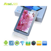 Alibaba cheap tablet arrives- firmware android 4.1 tablet pc camera ATM7023 prices cheap dual core tablet android 4.1
