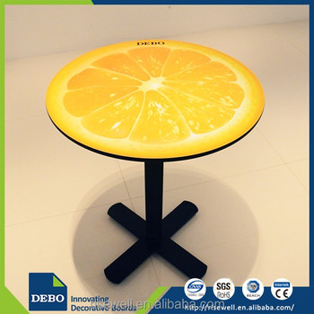 Wholesale products laminate cafe table tops