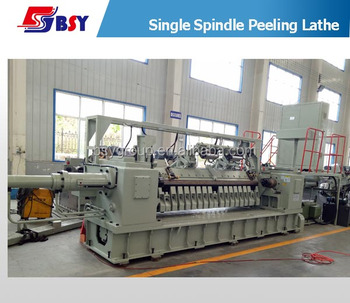 Hydraulic Spindle Veneer Peeling Machine