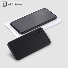CAFELE higt quality ultra thin slim mobile phone case cover for apple iphone 5s 5 se 6 6s 7 7plau 8 8plua 10 x