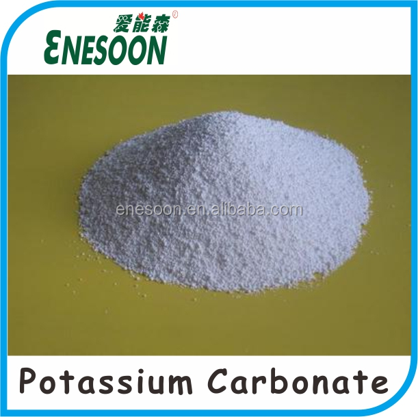 Purity 99% White Crystal Potassium Carbonate K2CO3