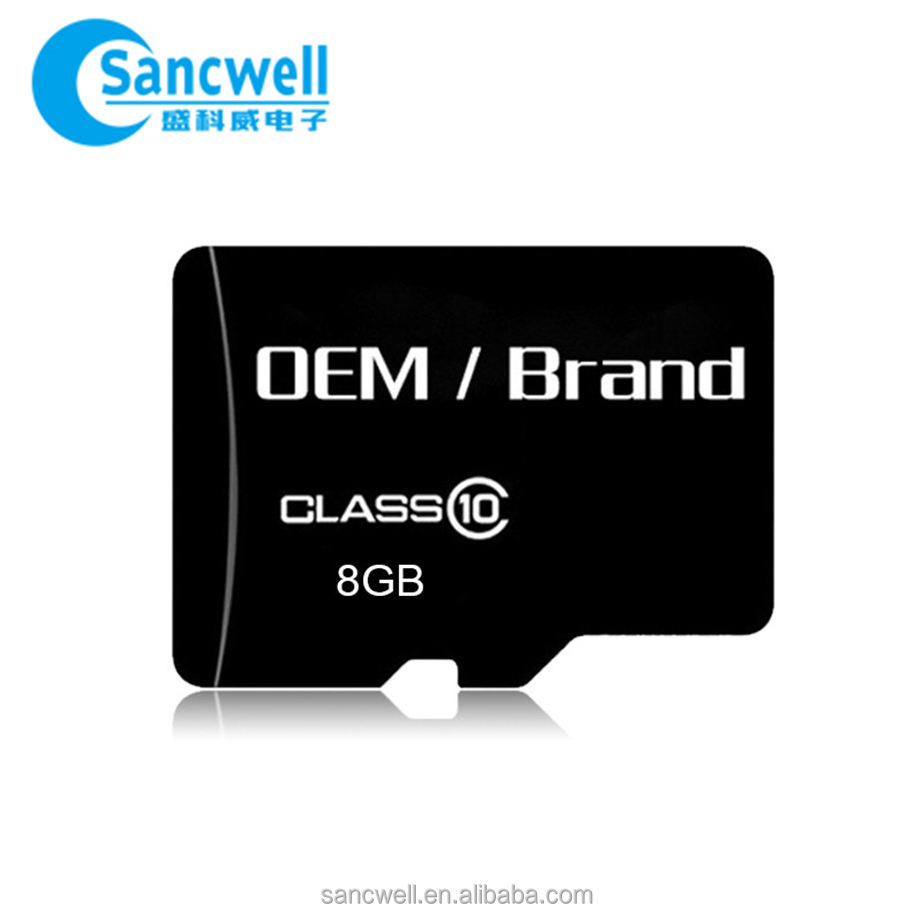 Lowest price 4k video 512mb 8gb 90 mb/s Android phone Backup storage Pass benchmark Memory card
