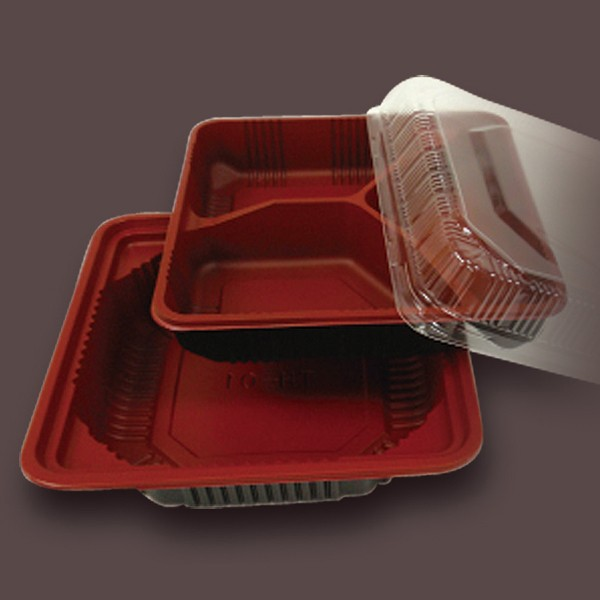 High quality small plastic containers with lids for food