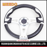 XB-C Elderly scooter go-kart racing 13 inch alloy chrome steering wheel