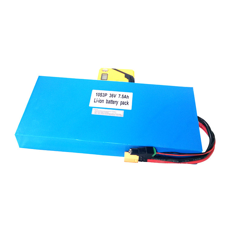 New Arrival 36V 7.5Ah Lifepo4 Battery Pack For Electric Bicycle Mountain Bike
