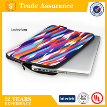 High quality printed neoprene laptop sleeve fashion waterproof neoprene laptop