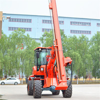 construction dilling equipment, screw pile driver, hammer pilling rigs for sale