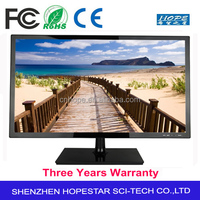 Widescreen PC Monitor 1080P Full HD 24 Inch LED TV Monitor