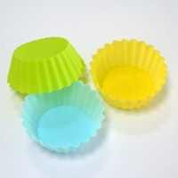 Assorted Cup Cake Mold Silicone Muffin Baking Mould Silicone Candle Mould