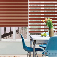 China roller blinds blackout zebra blind fabric