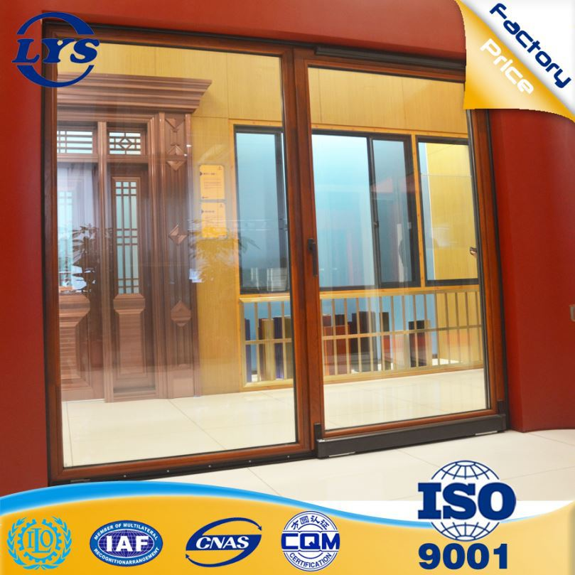 Made in china bullet proof security fabrication of aluminum windows and doors in pakistan