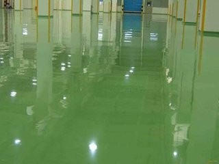 concrete floor abrasion resistant epoxy resin flooring