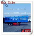 high quality fence cargo trailer with three axles double tires of any capacity