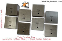 Jewelry making for gold, silver bangle dies tube forming dies for jewellery machinery