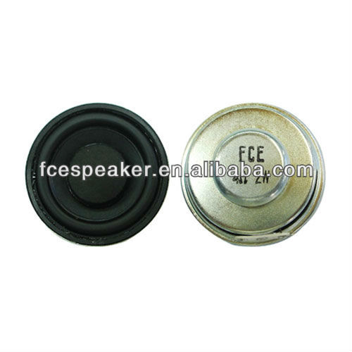 50mm 4ohm 2W full range music speaker with paper cone