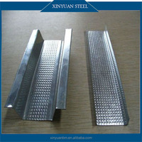 Galvanized Light Steel Keel Price/Top Hat Furring Channel Sizes for Gypsum Suspended Ceiling