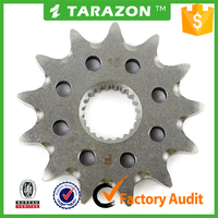 Motorcycle front chain sprocket for honda spare parts CRF250