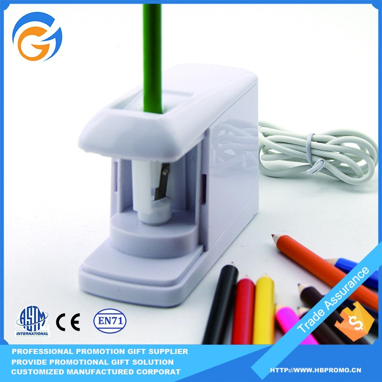 China Manufacture School Office Electric Pencil Sharpener