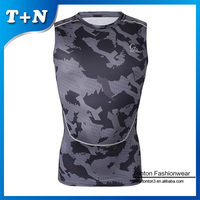 High quality Gym Wear Clothing stringer Vest 100%polyester tops